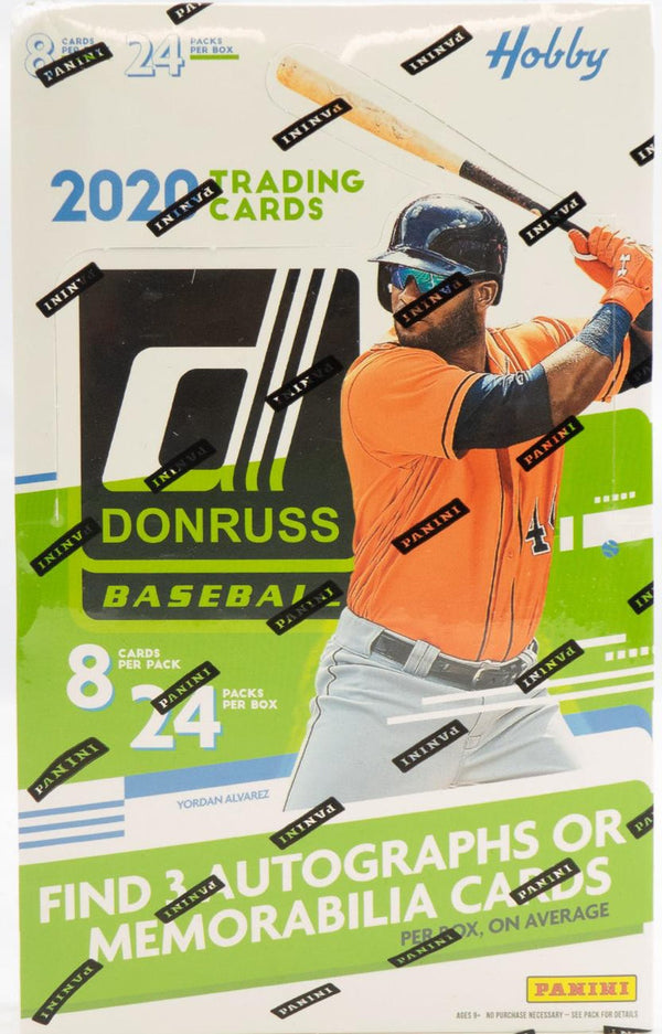 2020 Panini Donruss Baseball Hobby Box - BigBoi Cards