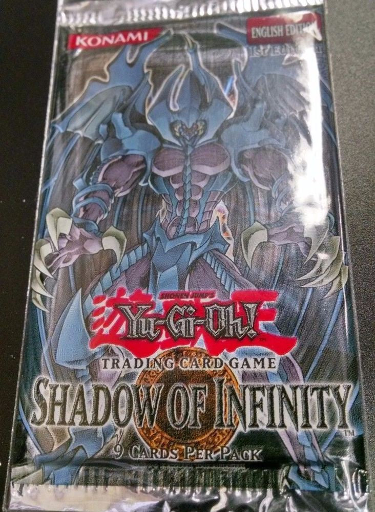Yu Gi Oh! Shadow Of Infinity Blister Pack English 1st edition (Lot of 3) - BigBoi Cards
