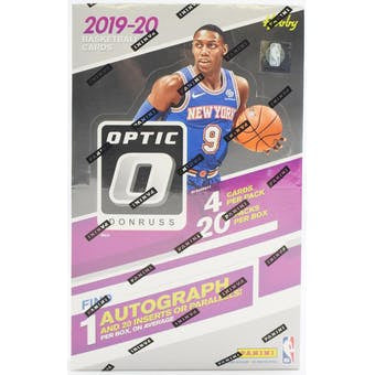 2019-20 Panini Optic Donruss Basketball Hobby Box - BigBoi Cards