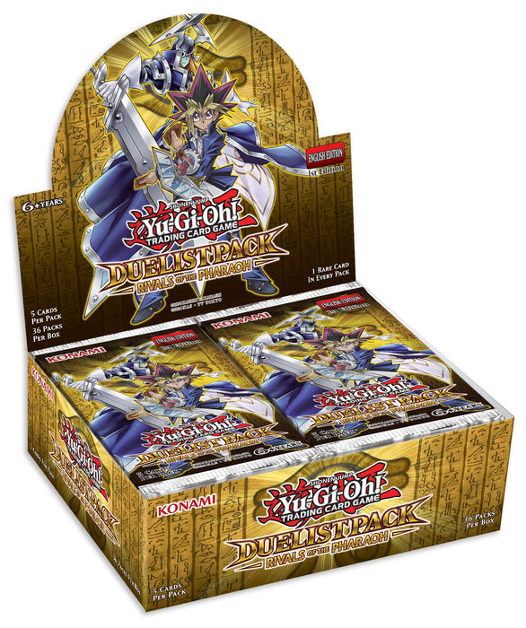 Konami Yu-Gi-Oh! TCG: Duelist Pack: Rivals of the Pharaoh First Edition Booster Box