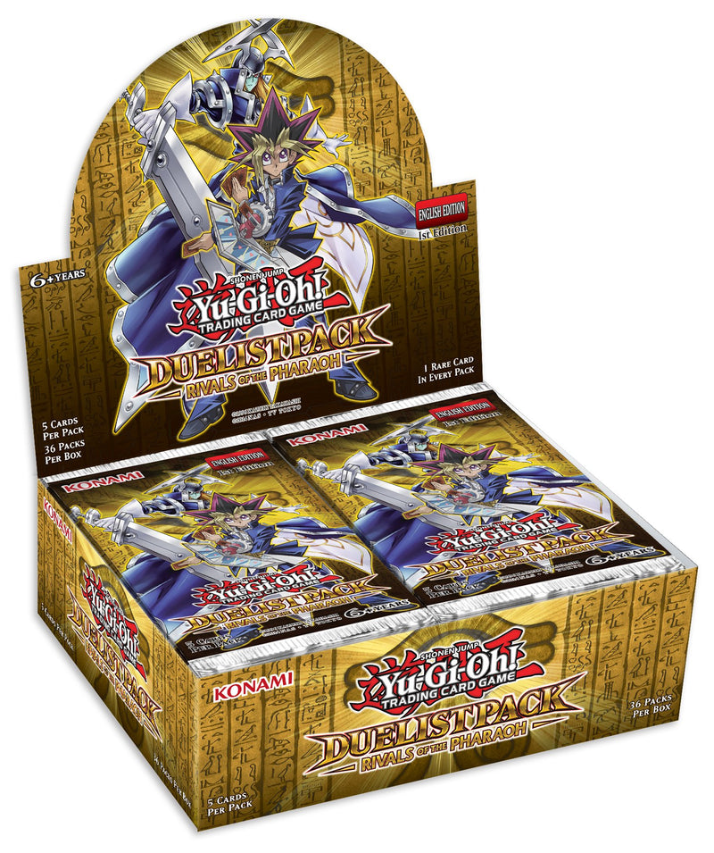 Konami Yu-Gi-Oh! TCG: Duelist Pack: Rivals of the Pharaoh First Edition Booster Box - BigBoi Cards