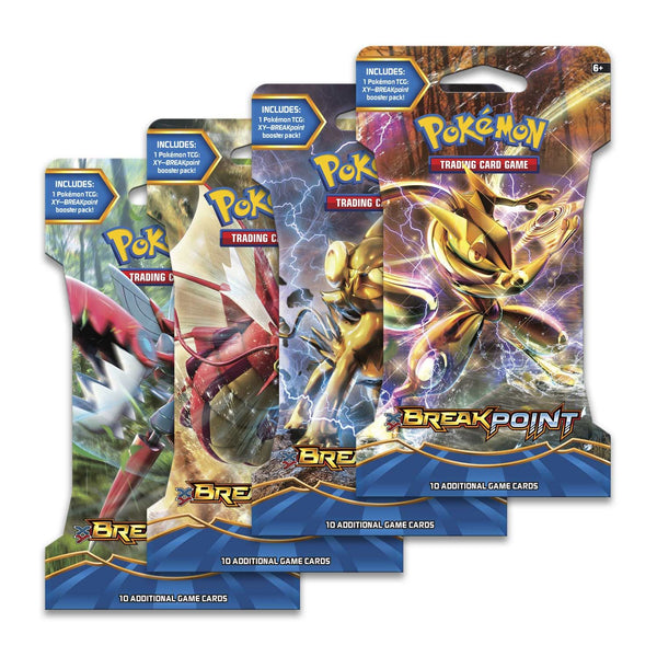 Pokemon  XY- Break Point Sleeved Booster Pack (24 packs a lot) - BigBoi Cards