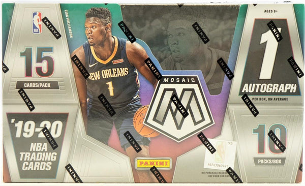 2019-20 Panini Mosaic Basketball Hobby Box - BigBoi Cards