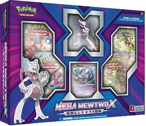 Pokémon Mega Mewtwo X Collection Figure Box