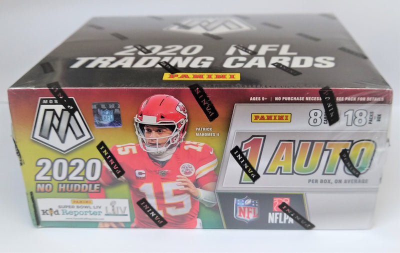 2020 Panini Mosaic No Huddle Football Hobby Box - BigBoi Cards