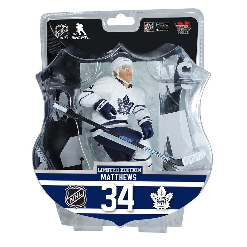 Austin Matthews Toronto Maple Leafs Limited Edition 6 inch Figurine - BigBoi Cards
