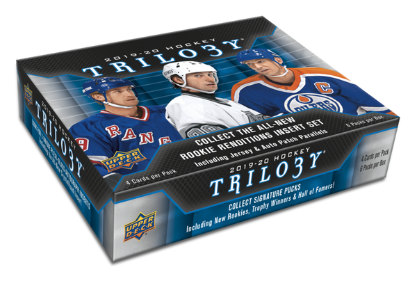 2019-20 Upper Deck Trilogy Hockey Hobby Inner Case (Boxes of 10) - BigBoi Cards