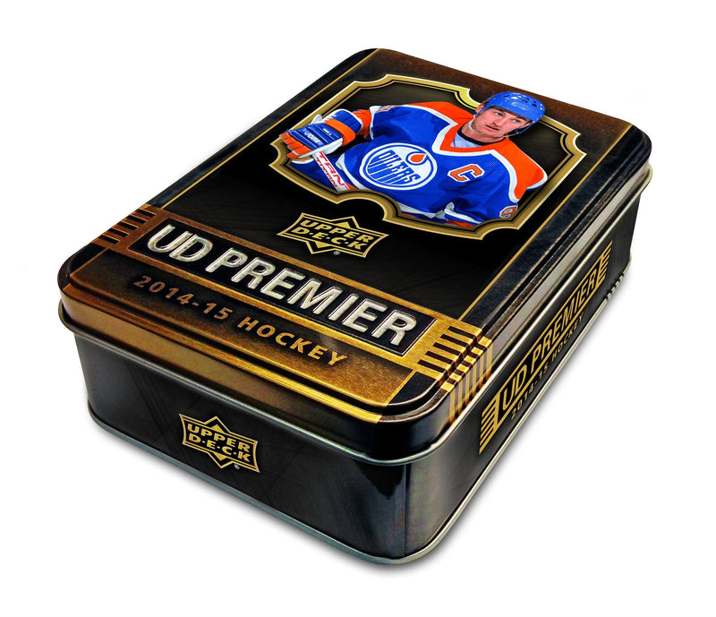 2014-15 Upper Deck Premier NHL Hockey Hobby Tin Box (Case of 5) - BigBoi Cards