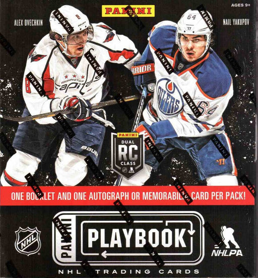 2013-14 Panini Playbook NHL Hockey Hobby Box (Case of 12)