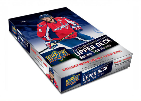 2015-16 Upper Deck Series 2 NHL Hockey Hobby Case (Boxes of 12) - BigBoi Cards