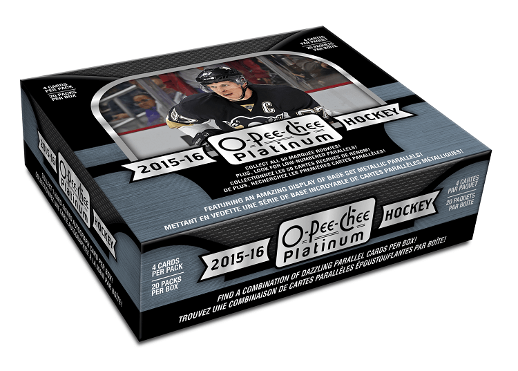 2015-16 Upper Deck O-Pee-Chee Platinum NHL Hockey Hobby Case (Boxes of 16) - BigBoi Cards