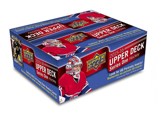 2015-16 Upper Deck Series 1 NHL Hockey Retail Case (Boxes of 20) - BigBoi Cards