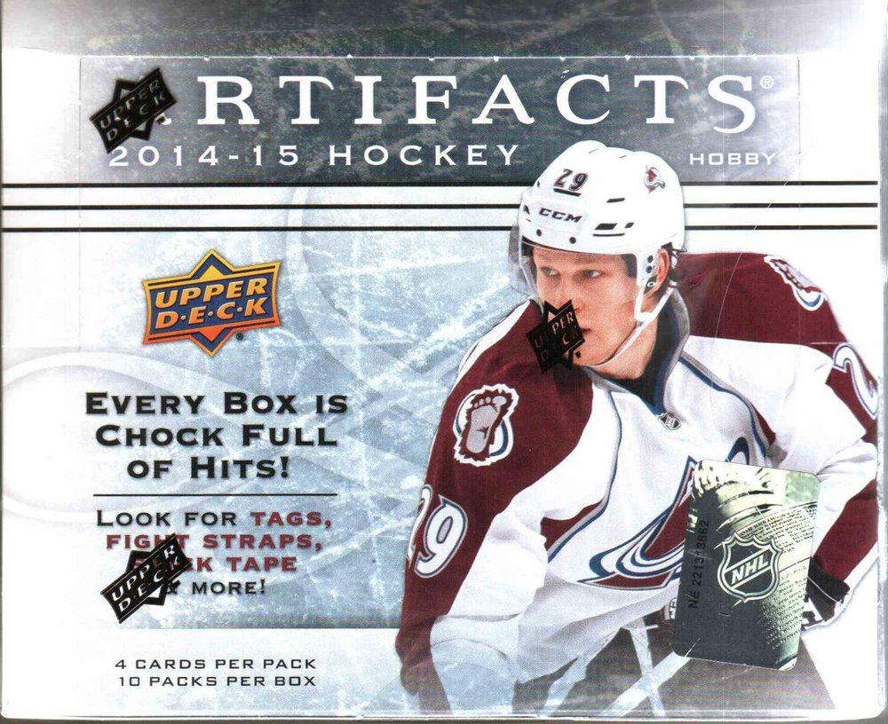 2014-15 Upper Deck Artifacts NHL Hockey Hobby Box (Case of 8)