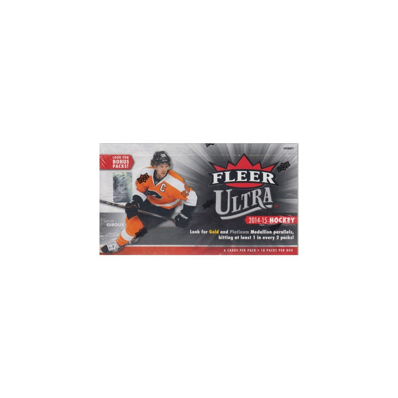 2014-15 Upper Deck Fleer Ultra Hockey Hobby Case (Boxes of 8) - BigBoi Cards
