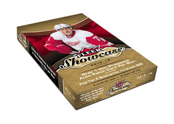 2015-16 Upper Deck Fleer Showcase NHL Hockey Hobby Box (Case of 8) - Quecan Distribution