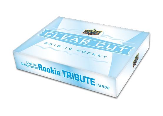2018-19 Upper Deck Clear Cut Hockey Hobby Sealed Box - BigBoi Cards
