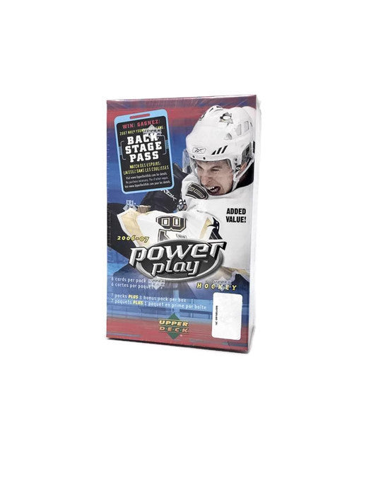 2006-07 Upper Deck Power Play Hockey Blaster Box - BigBoi Cards