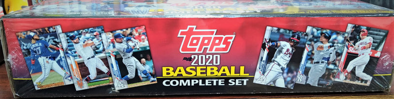 2020 Topps Baseball Complete Factory Set Box - BigBoi Cards