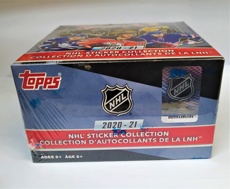 2020-21 Topps NHL Sticker Box - BigBoi Cards
