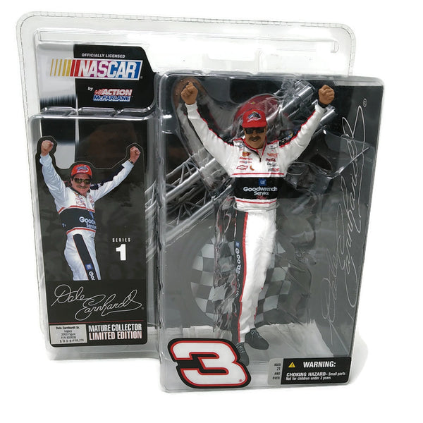 McFarlane NASCAR Series 1 Dale Earnhardt Limited Edition Action Figure - BigBoi Cards