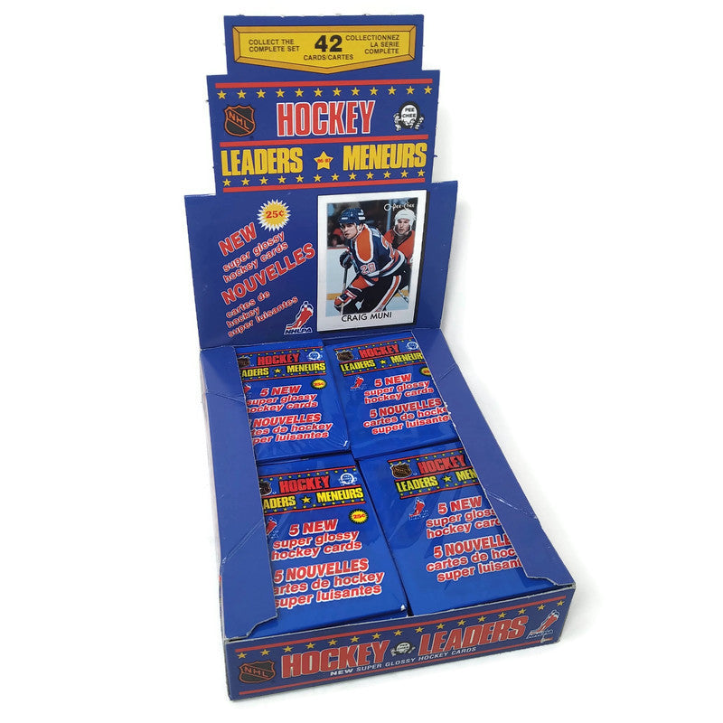 SPECIAL !! 1986-87 O-Pee-Chee Hockey Leaders Box - BigBoi Cards