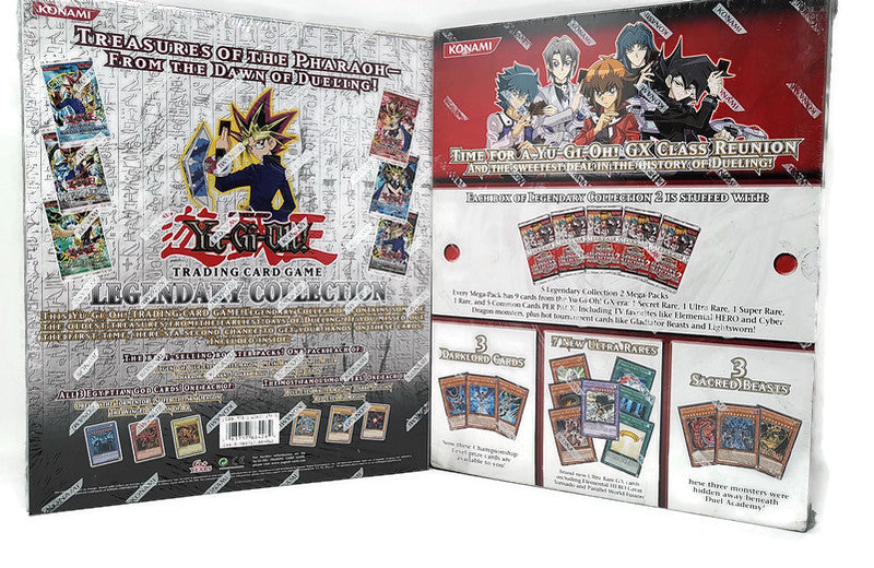 Yu Gi Oh! Legendary Collection 1 + 2 Albums (LAST SET!) - BigBoi Cards