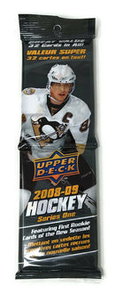 2008-09 Upper Deck Series 1 Hockey Fat Pack (Box of 18 Packs) - BigBoi Cards