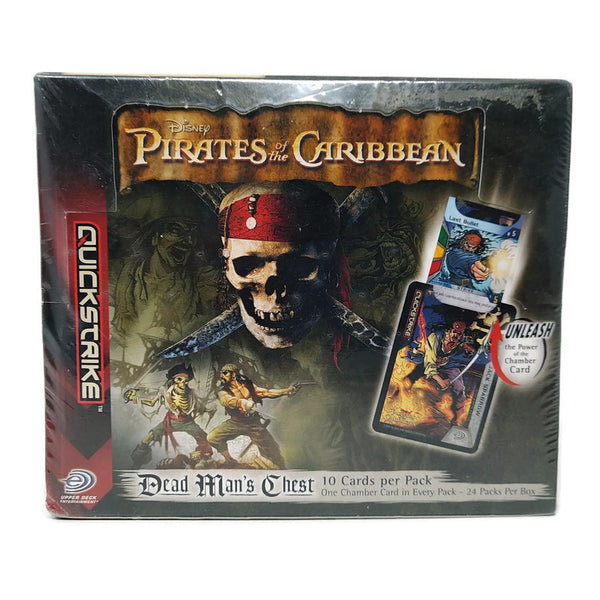 Pirates Of The Caribbean Quickstrike Card Game Dead Man's Chest Booster Box (Last Box !) - BigBoi Cards