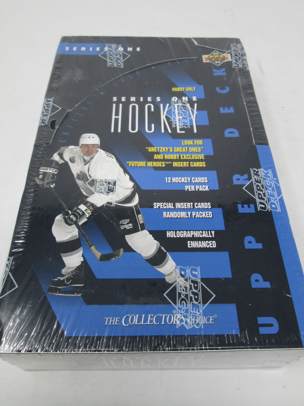 1993-94 Upper Deck Series 1 Hockey Hobby Box - BigBoi Cards