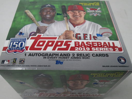 2019 Topps Series 2 Baseball Hobby Jumbo Box