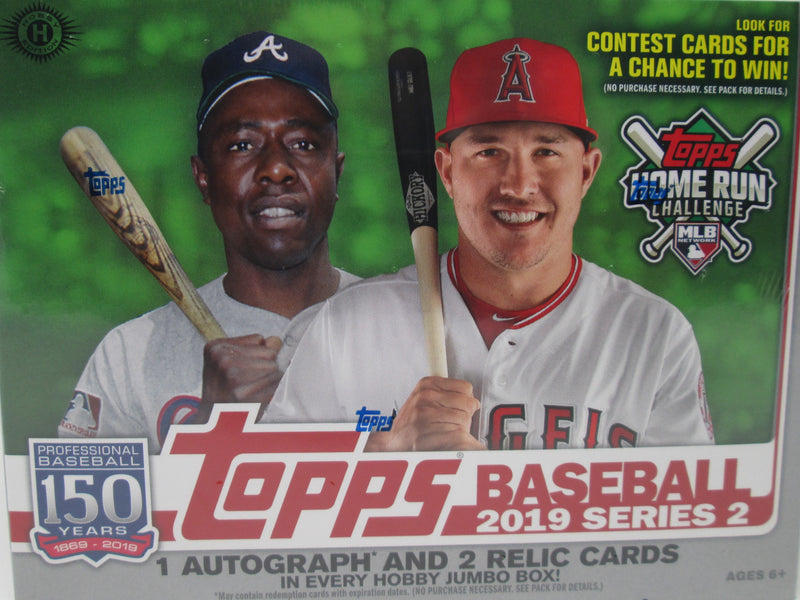 2019 Topps Series 2 Baseball Hobby Jumbo Box - BigBoi Cards