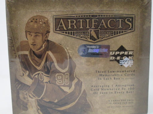 2005-06 Upper Deck Artifacts Hockey Hobby Box