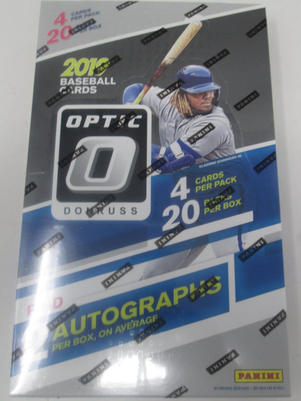 2019 Donruss Optic Baseball Hobby Box - BigBoi Cards