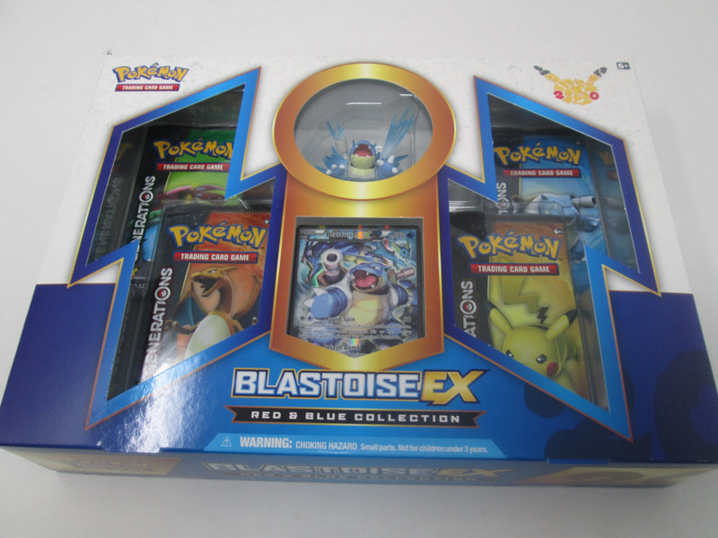 Pokemon TCG Red and Blue Collection Blastoise EX Box - BigBoi Cards