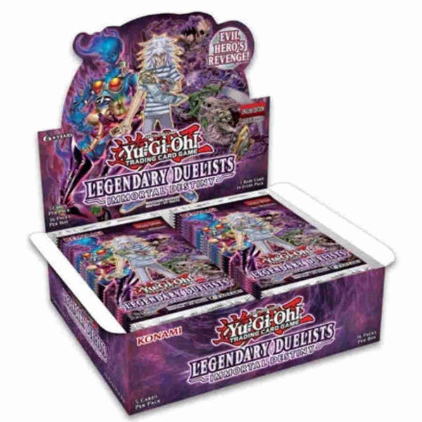 Konami Yu-Gi-Oh! TCG: Legendary Duelists Immortal Destiny Booster Box - BigBoi Cards