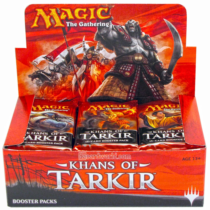 Magic The Gathering: Khans of Tarkir Booster Box - BigBoi Cards