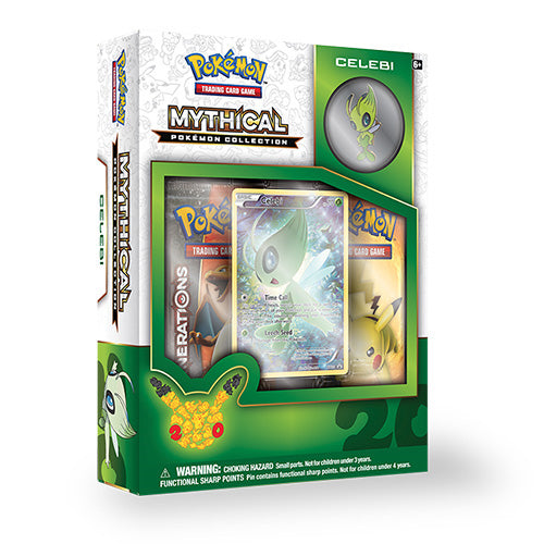 Pokémon TCG: Mythical Celebi Pin Collection Box