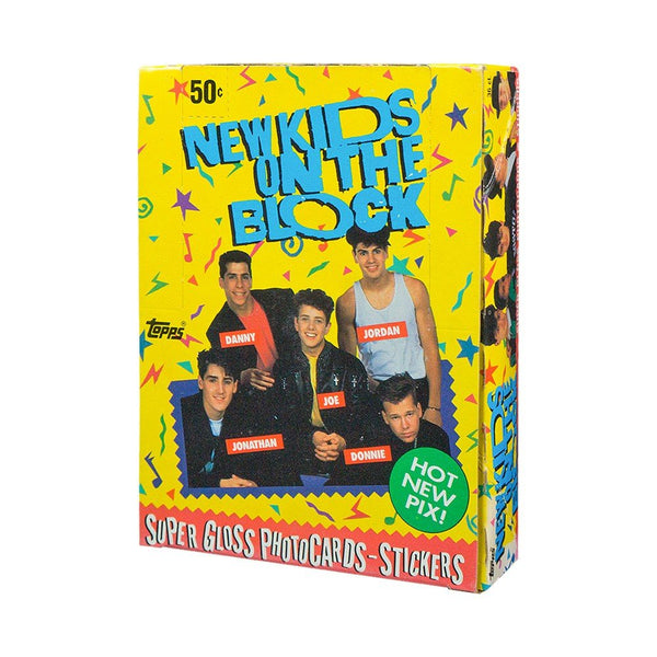 Topps NEW KIDS ON THE BLOCK 1989 (36 Count Wax Pack Box) - BigBoi Cards