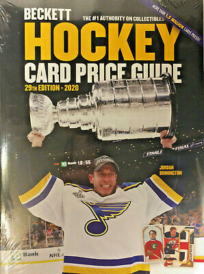 2020 Beckett Hockey Card Annual Price Guide 29th Edition Jordan Binnington - Quecan Distribution