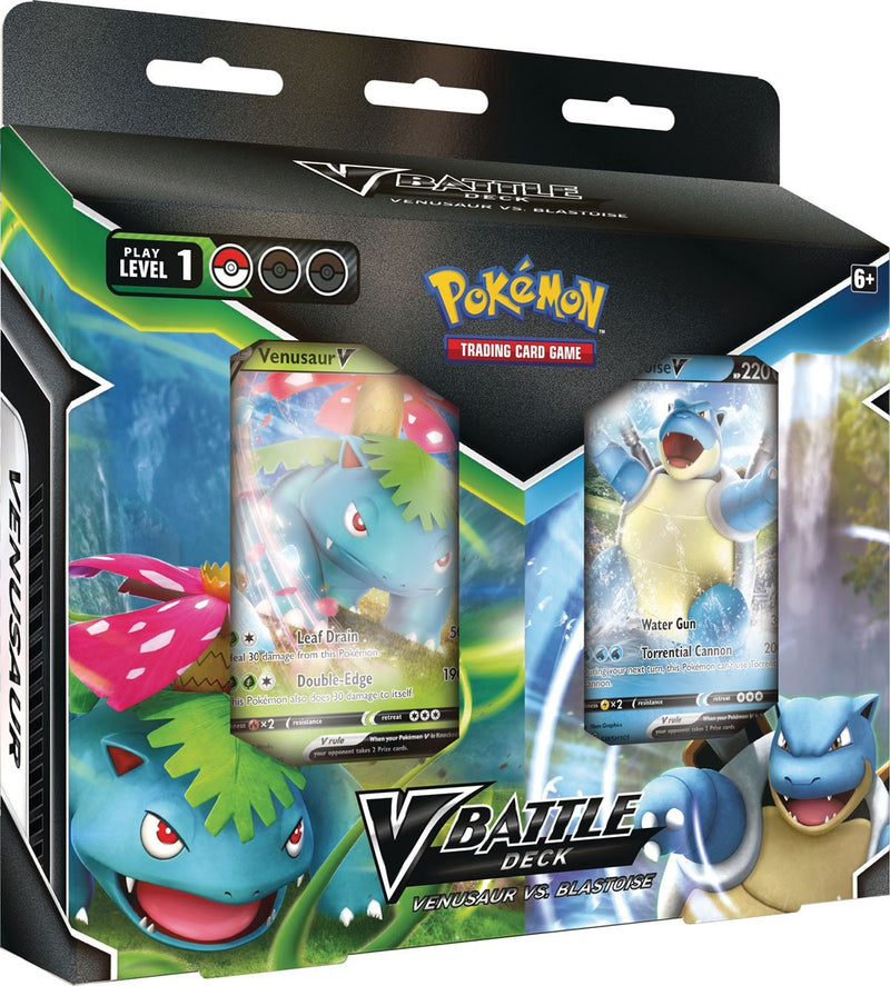 Pokemon  Venusaur VS Blastoise V Battle Deck - BigBoi Cards