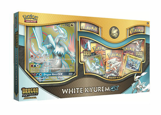Pokémon TCG Dragon Majesty White Kyurem GX Box - BigBoi Cards