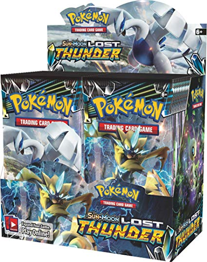 Pokémon TCG: Sun & Moon Lost Thunder Booster Box - Quecan Distribution
