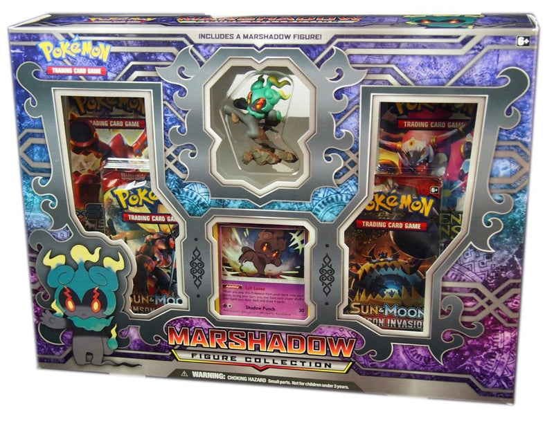 Pokémon TCG: Marshadow Figure Collection Box - BigBoi Cards
