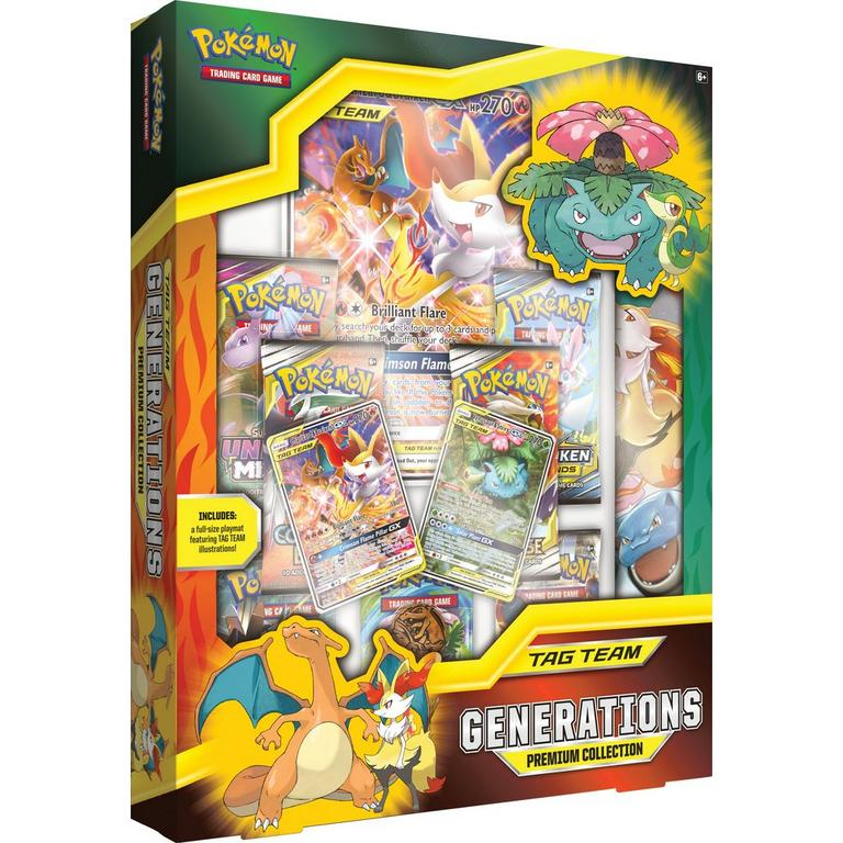 Pokemon TAG TEAM Generations Premium Collection Box - BigBoi Cards