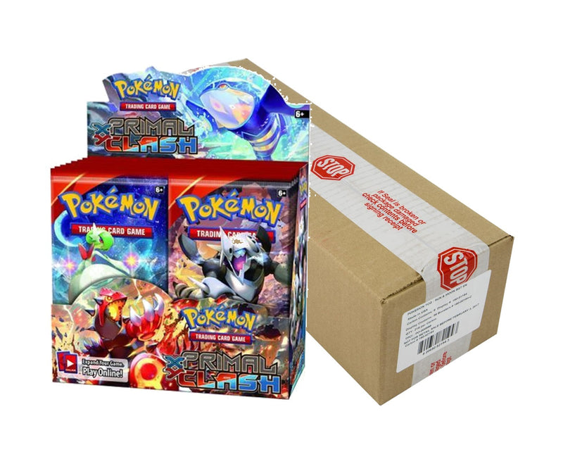 Pokémon TCG: Primal Clash Booster Case (Boxes of 6) - BigBoi Cards