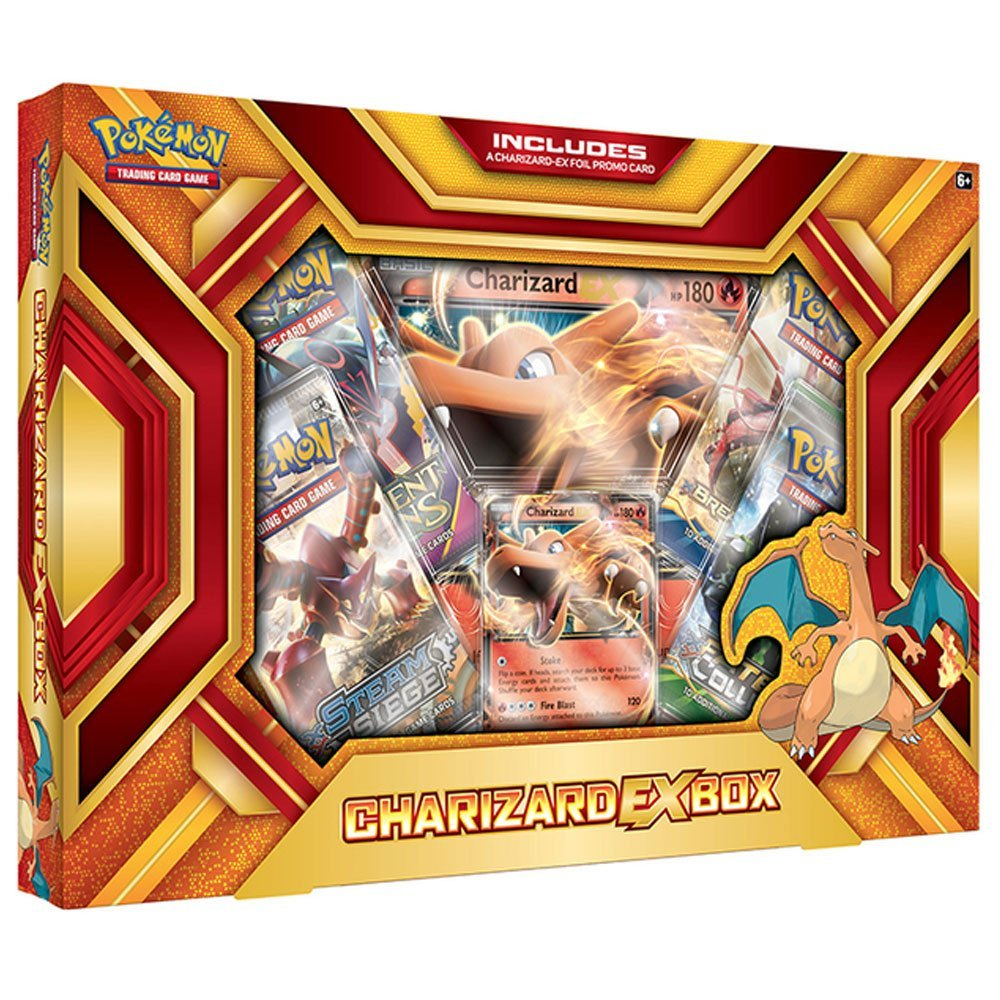 Pokémon TCG: Charizard-EX Box - Fire Blast - Quecan Distribution