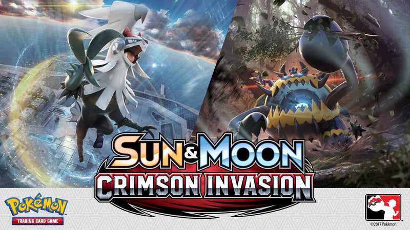 Pokémon TCG Sun & Moon Crimson Invasion Booster Case (Boxes of 6) - BigBoi Cards