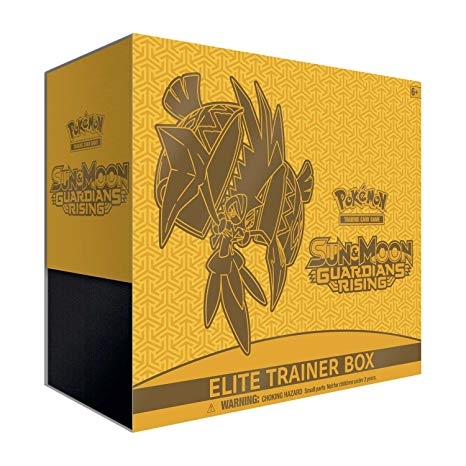 Pokémon Sun & Moon - Guardians Rising Elite Trainer Box - BigBoi Cards