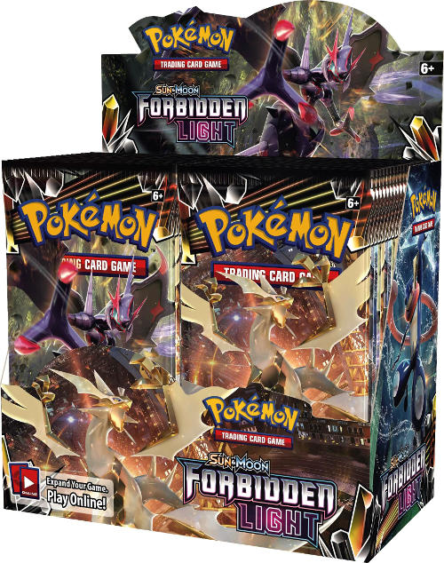 Pokémon TCG Sun & Moon: Forbidden Light Booster Box - Quecan Distribution