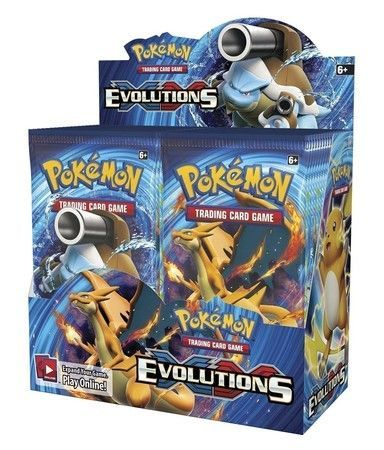 Pokémon  Evolutions Booster Sealed Box